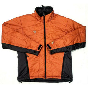 Mountain Hardwear Mens Primaloft Orange Jacket M